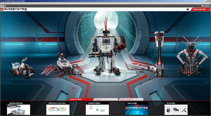 Le logiciel Mindstorms